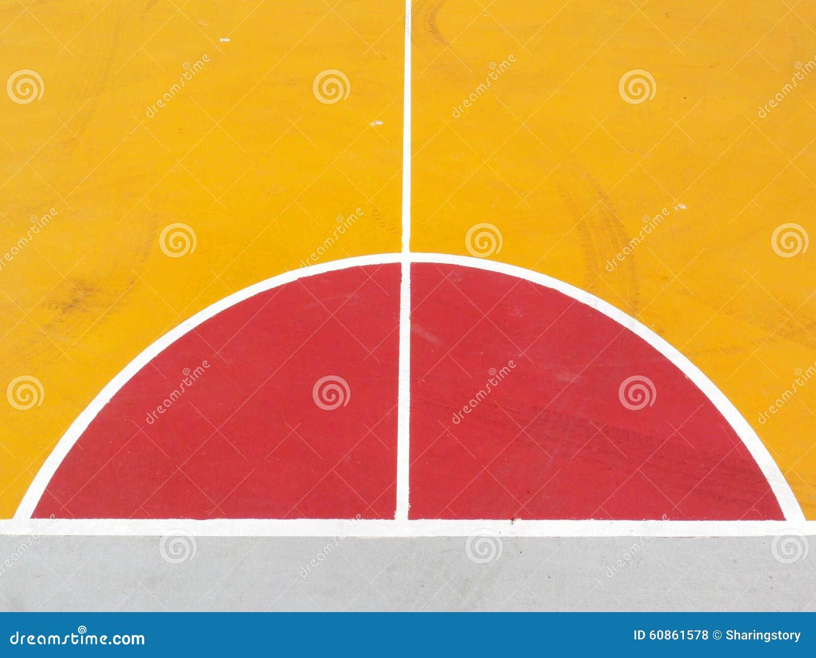 Linee del campo da pallacanestro