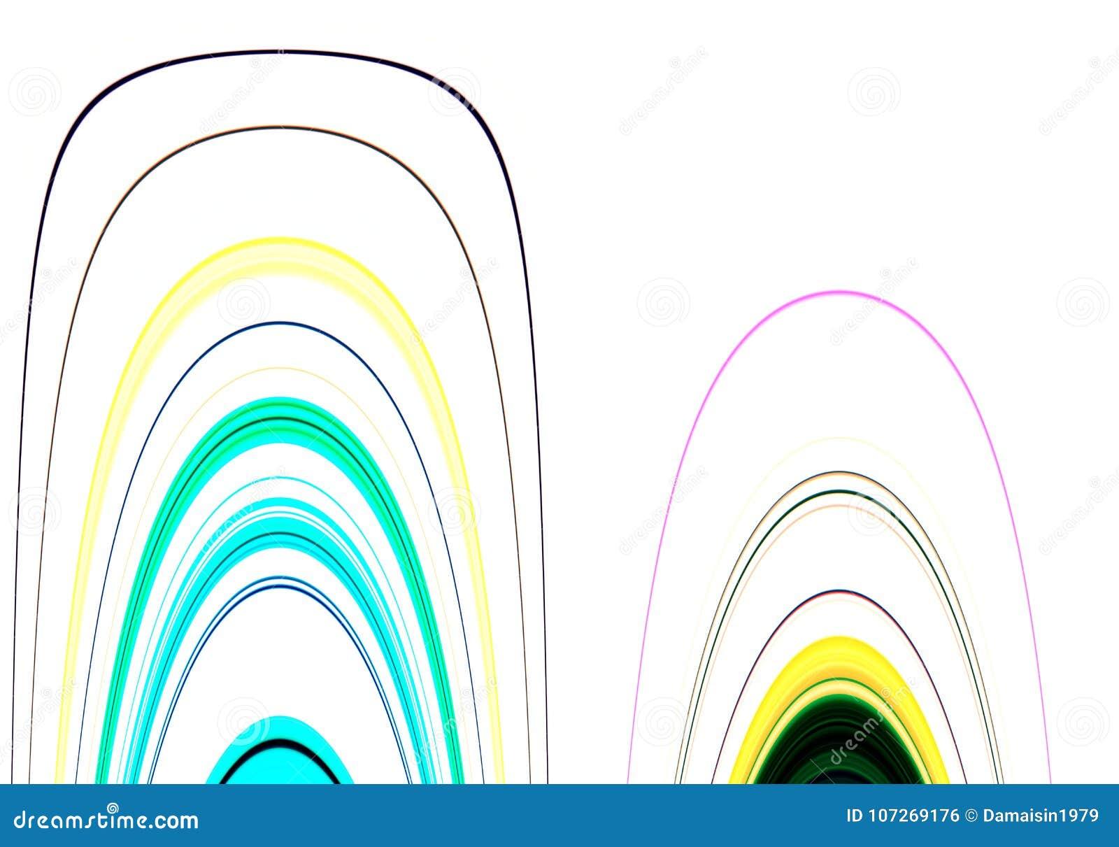 Linee e colori e fondo allegri di forme di contrasto nelle tonalità pastelli