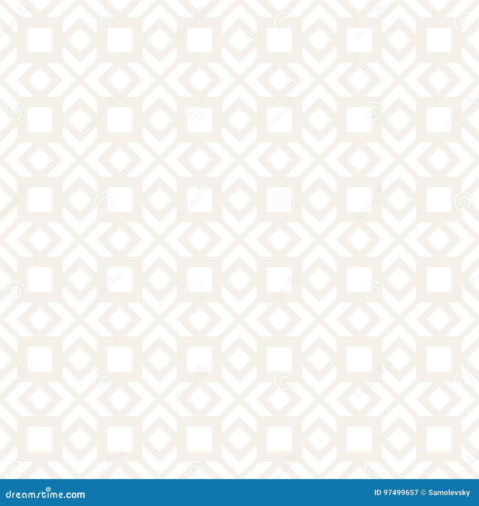 Linee geometriche astratte modello della grata Priorità bassa senza giunte di vettore Struttura di ripetizione semplice sottile