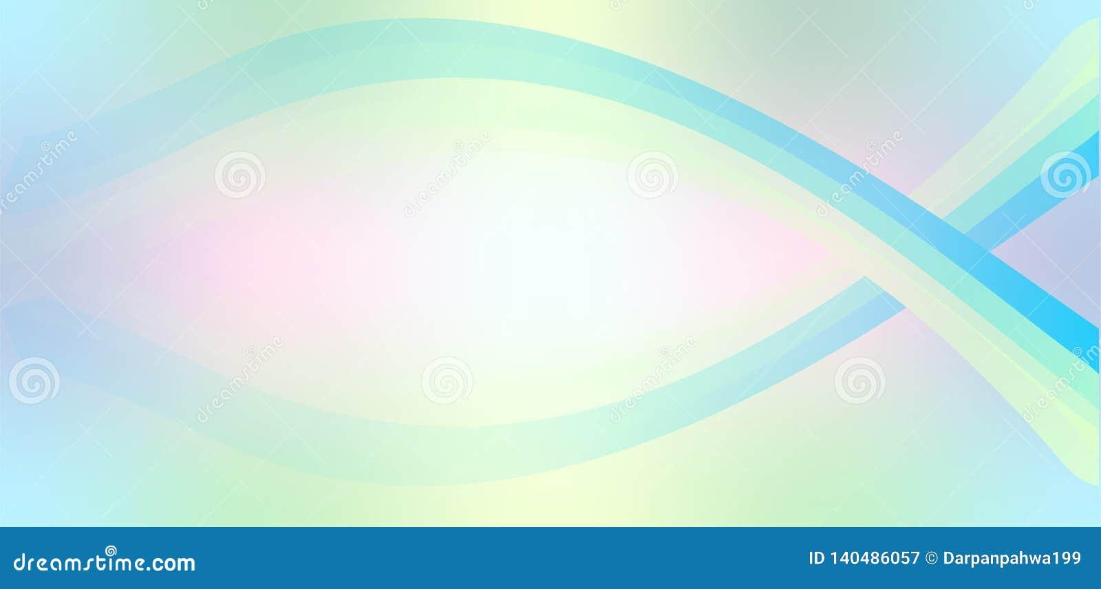 Linee variopinte eleganti fondo astratto dell onda di stile futuristico
