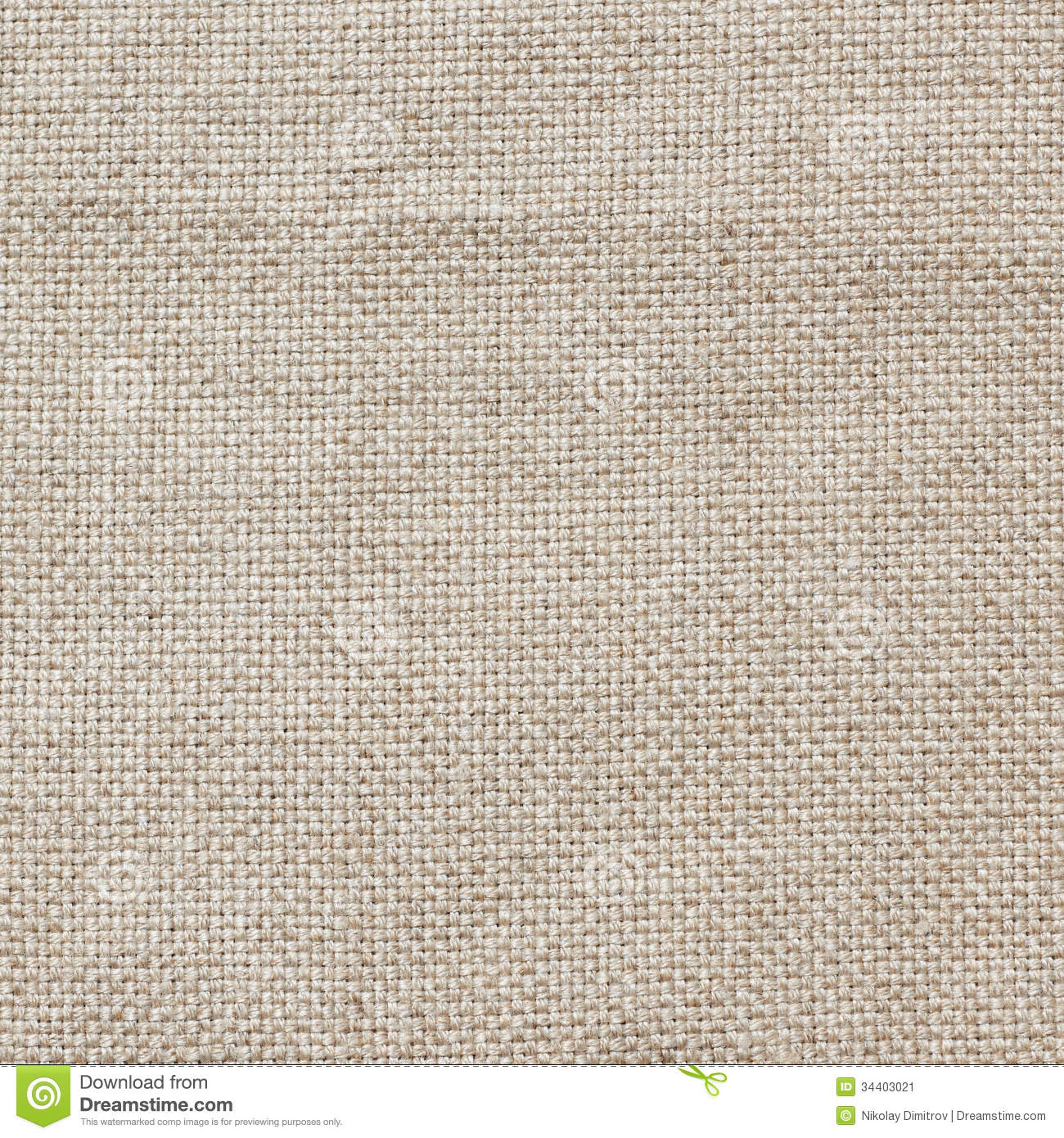 Linen canvas fabric background, real natural material.