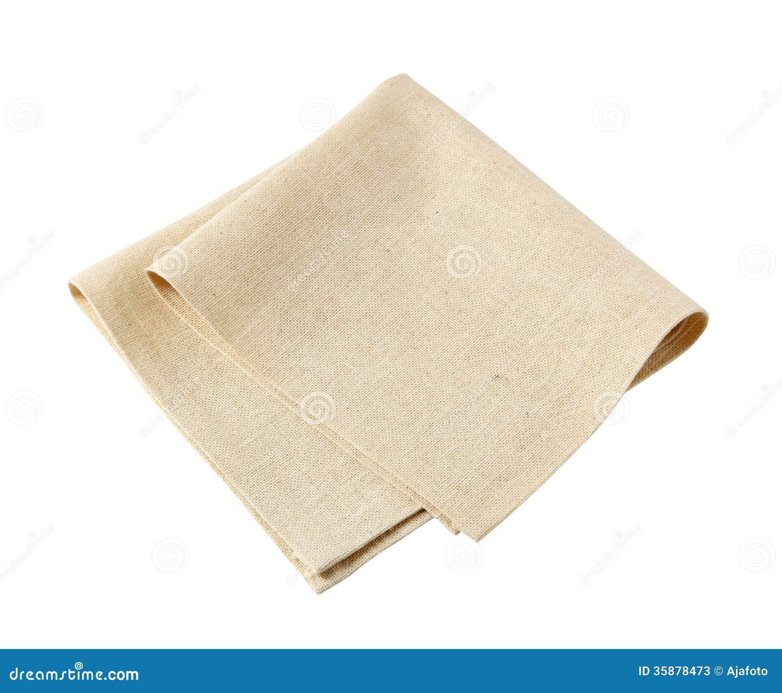 Linen Napkin Stock Photos Image 35878473