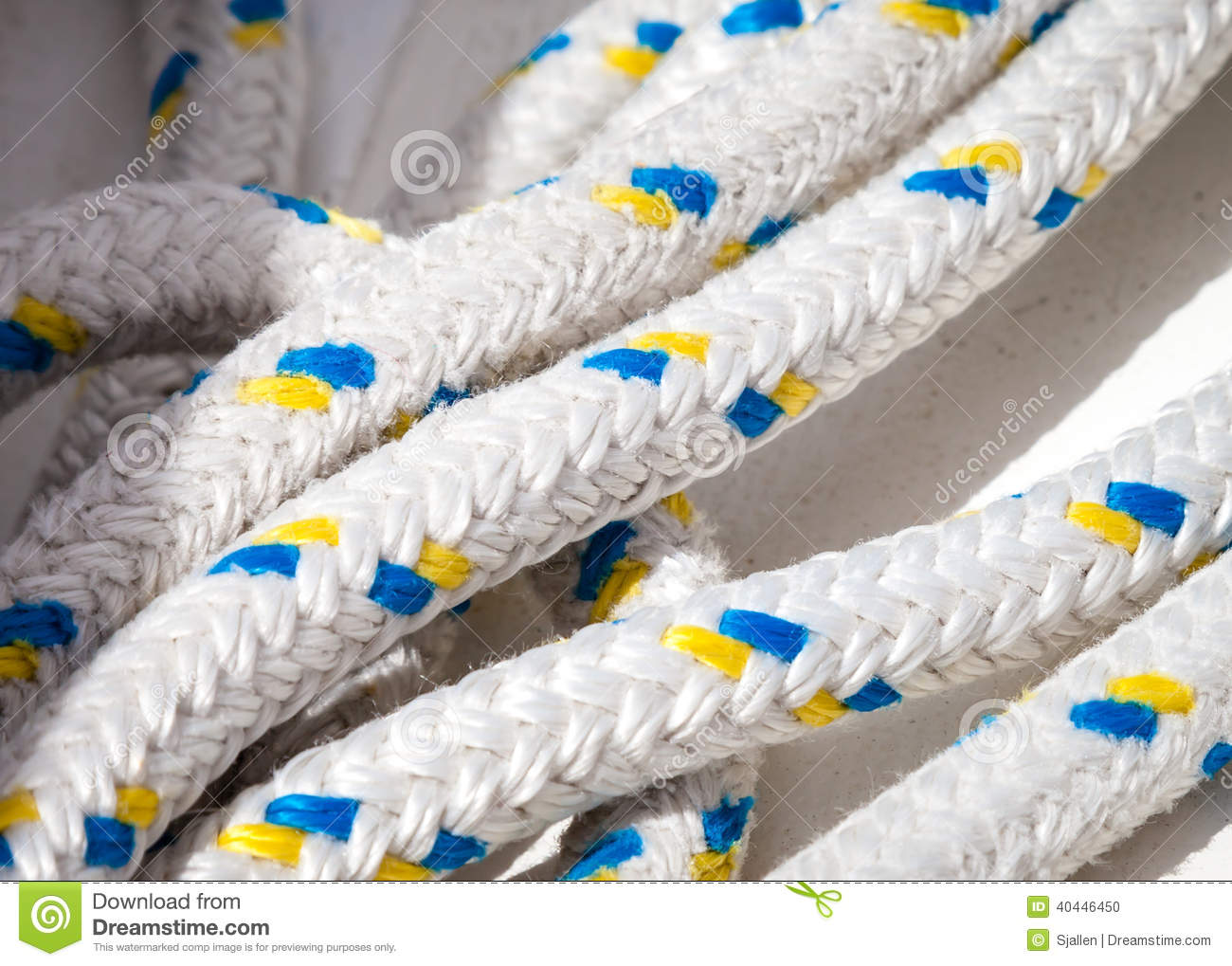 lines of for rigging on a sailboat stock photo image 40446450