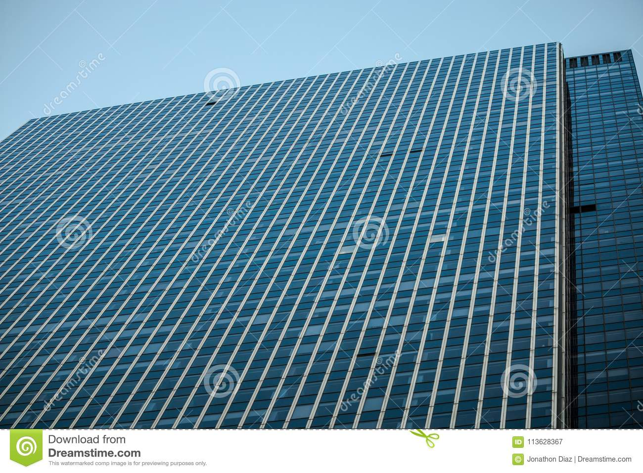 Lines Of Symmetry Of Many Windows Stock Image Image Of Sunny