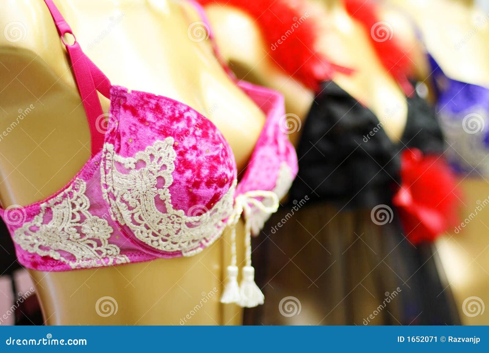 Lingerie Shop Stock Image - Image: 1652071