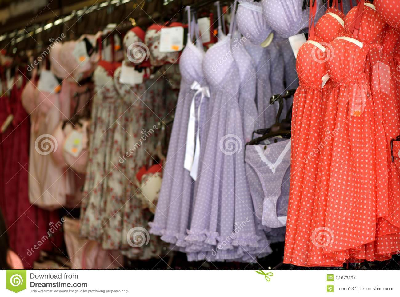Lingerie Shop Royalty Free Stock Photography - Image: 31673197