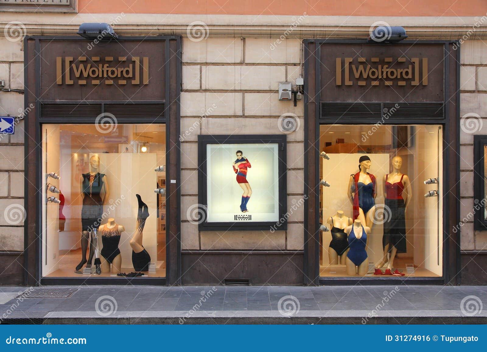 Lingerie Shop Editorial Photo - Image: 31274916