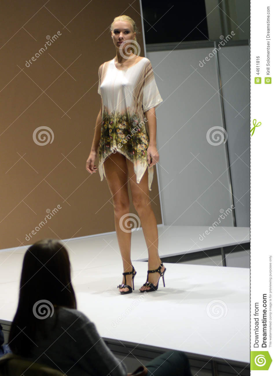 Fashion Show Lingrie Expo Moscow 5Th International