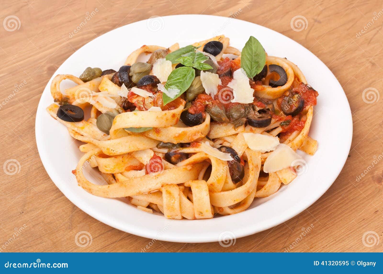 "Spaghetti"" With Tomato Sauce And Parmesan Cheese Recipes — Dishmaps"