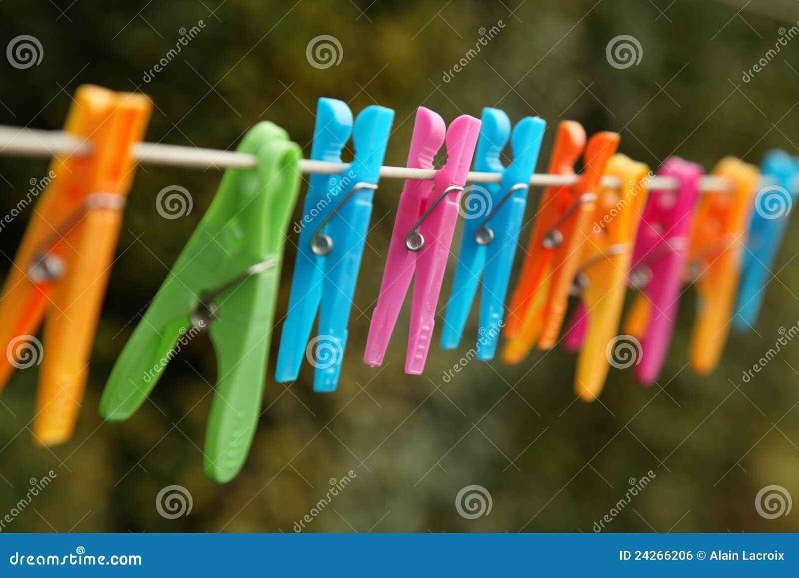 Linha da lavanderia