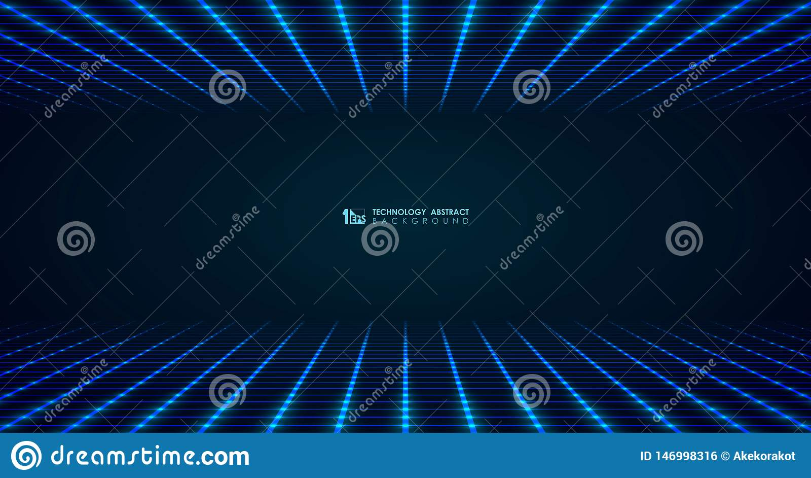 Linha de grade quadrada futurista larga teste padrão do sumário para conectar o fundo Vetor eps10 da ilustra??o