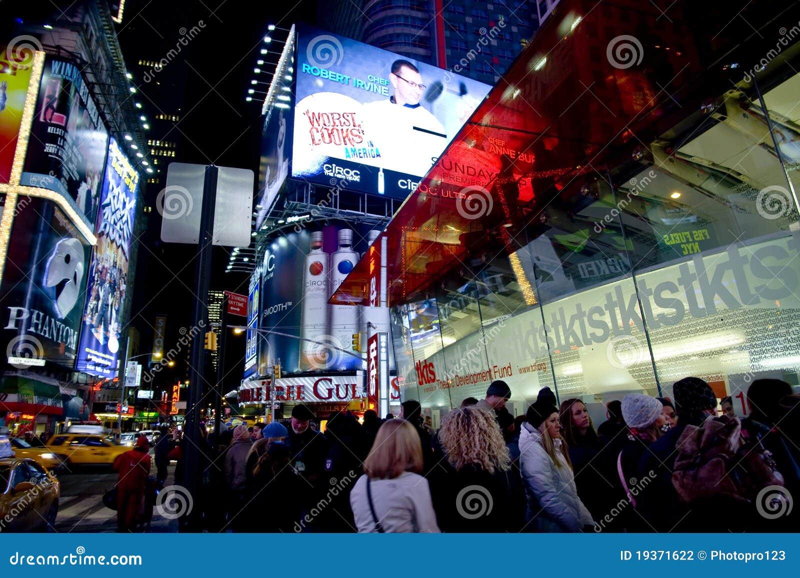 Linha de TKTS no Times Square