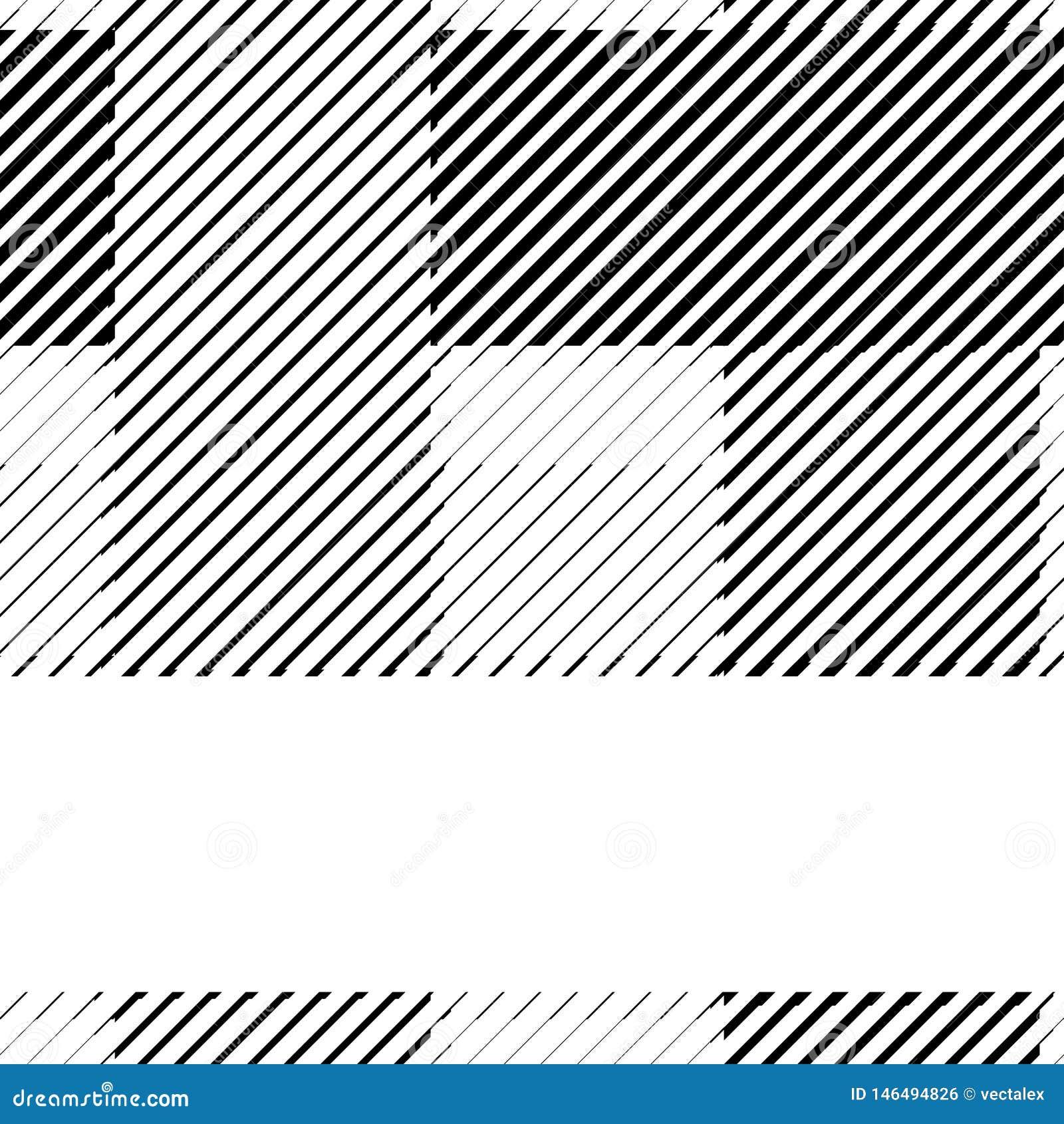 Linhas de intervalo m?nimo teste padr?o preto e branco do bitmap do fundo retro