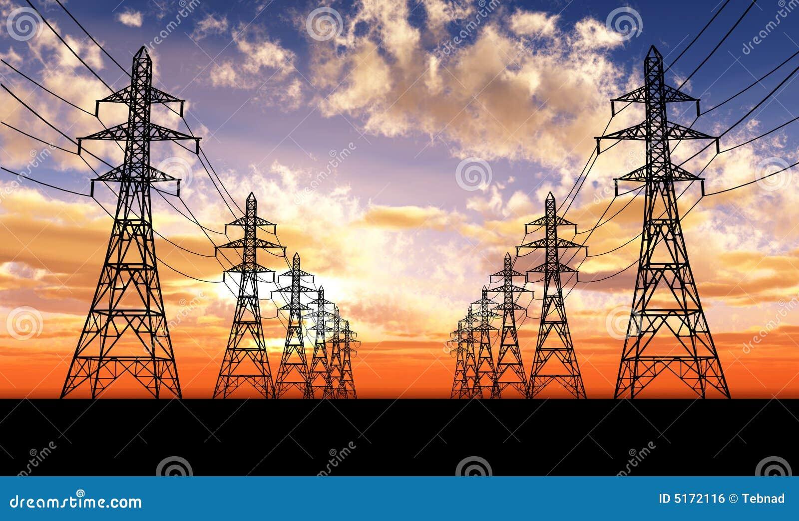Linhas eléctricas elétricas
