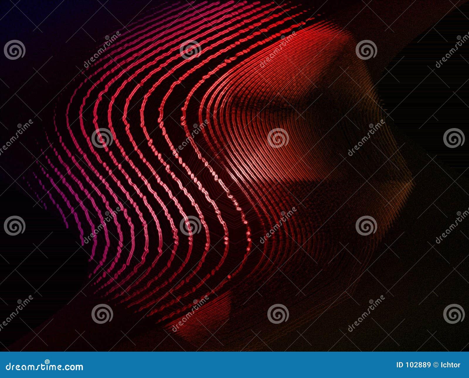 Linhas onduladas