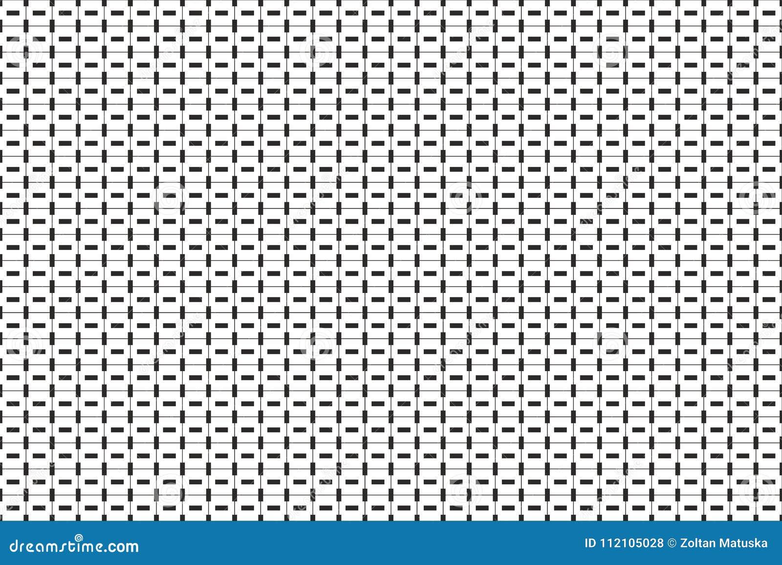Linhas Pequenas Monocromaticas Teste Padrao Geometrico Listras