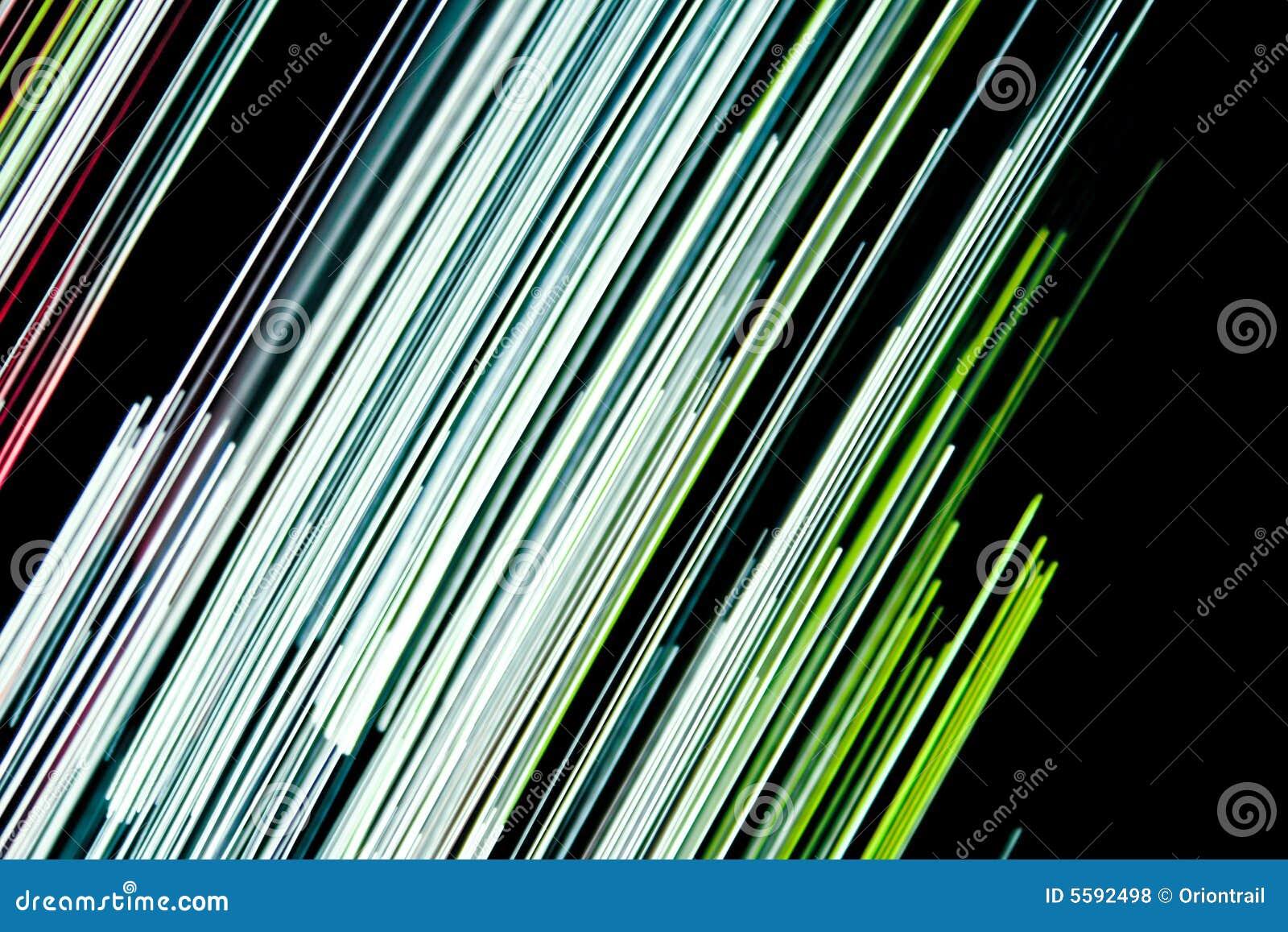 Linhas Coloridas Abstratas De Um Arco Ris Isolado No Fundo Branco