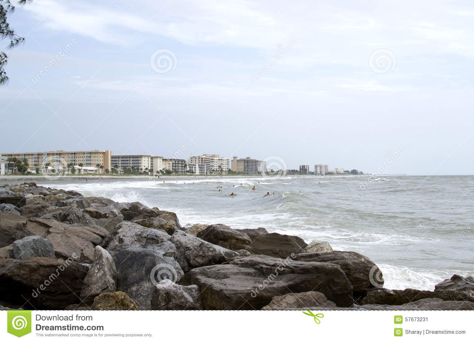 Linia brzegowa Wenecja Floryda