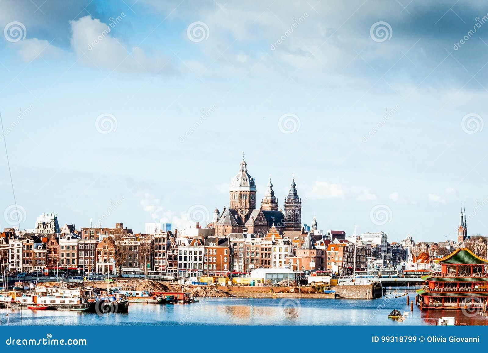 Linia horyzontu Amsterdam