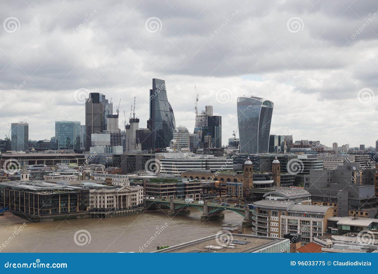Linia horyzontu miasta Londynu