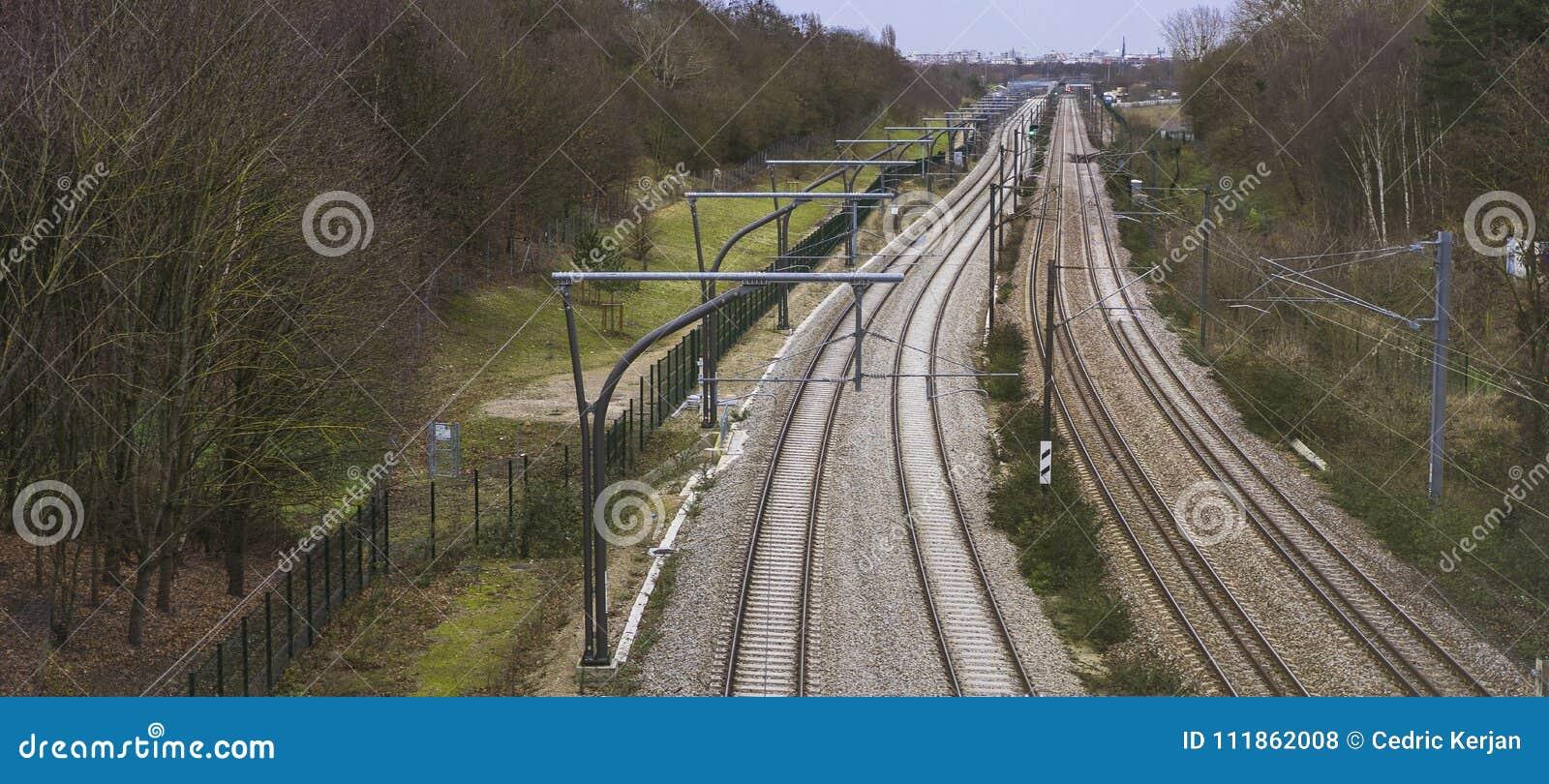 Linia kolejowa, France