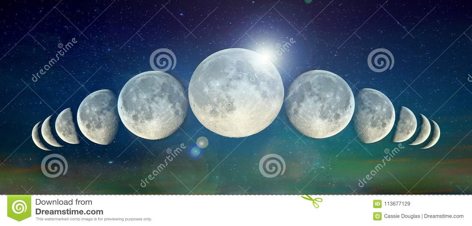 Linia księżyc