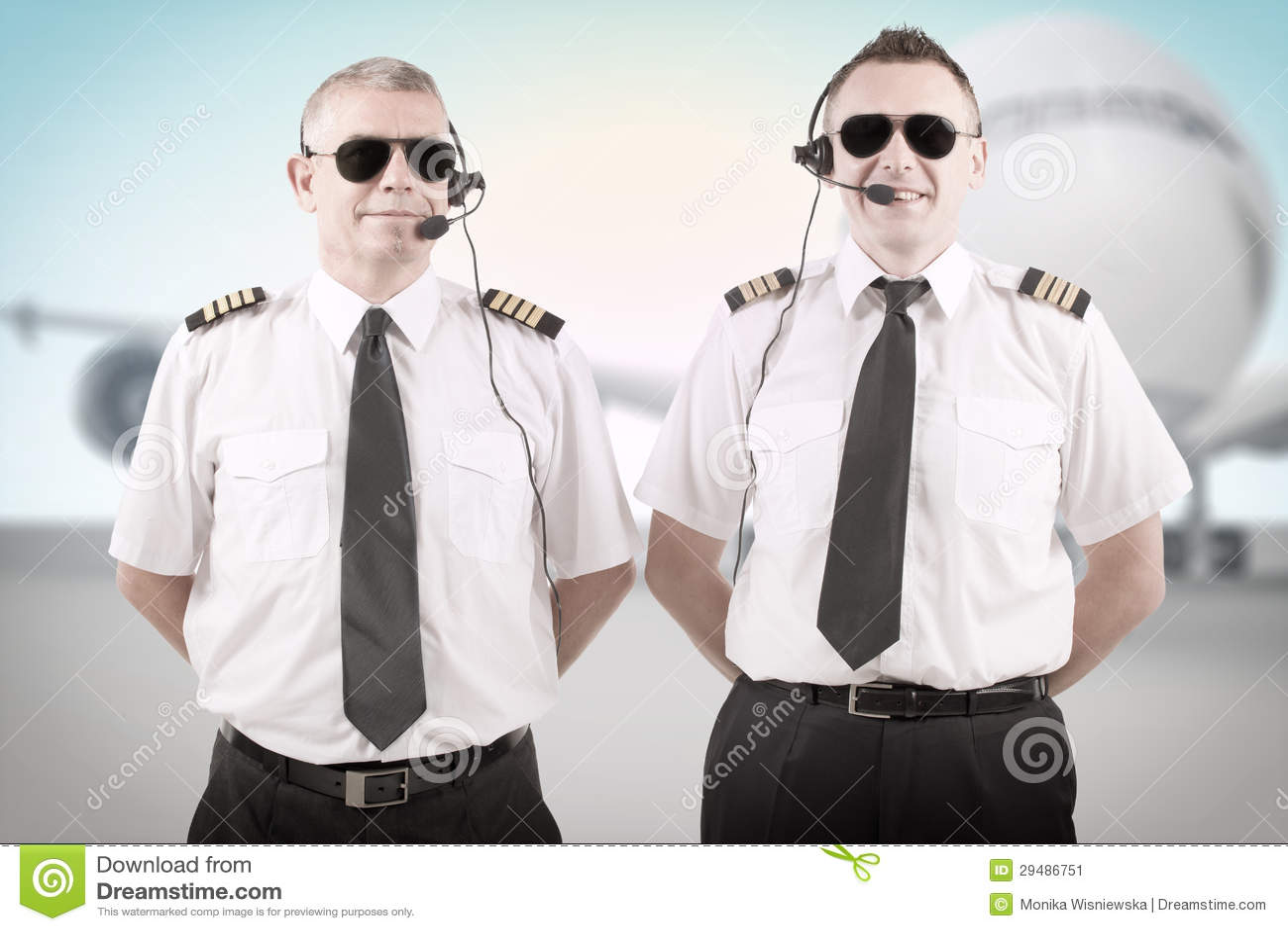 Linia lotnicza piloci