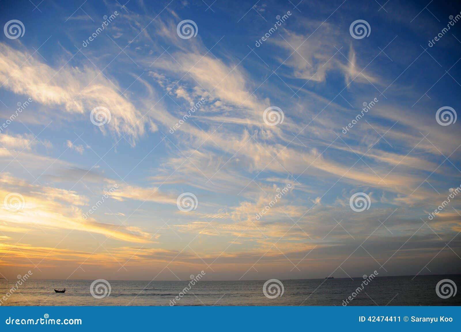 Linie der Wolke