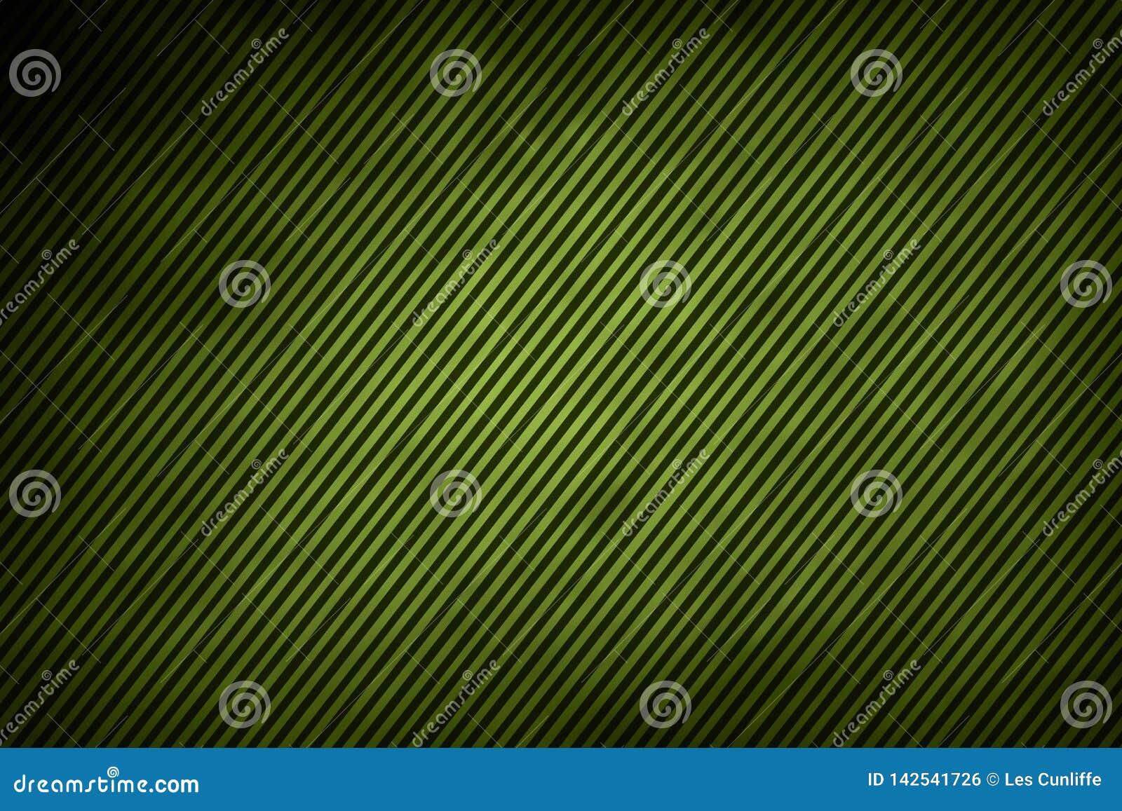 Linien auf Grün