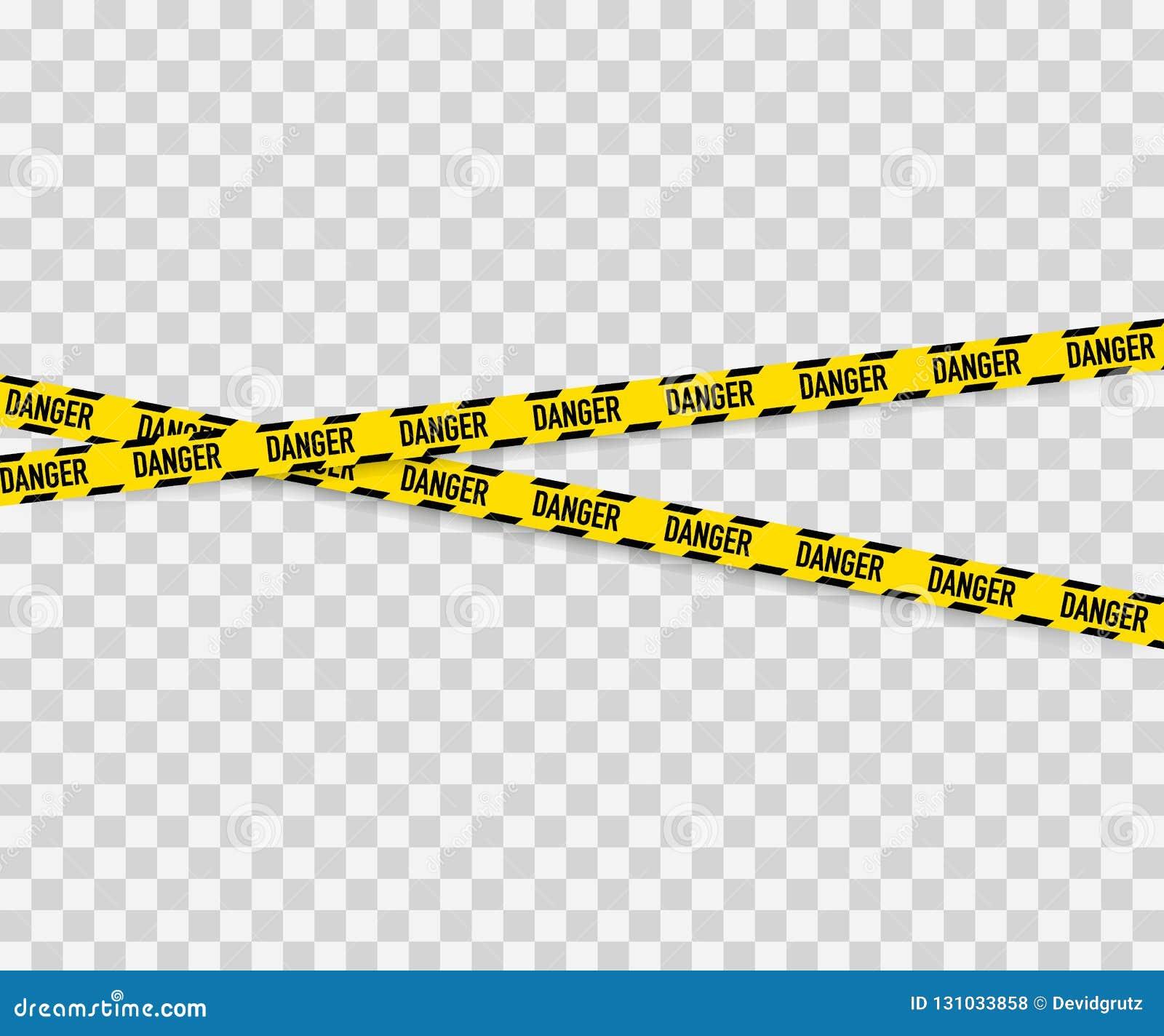 Linien lokalisiert Warnende Bänder achtung Warnschilder Auch im corel abgehobenen Betrag