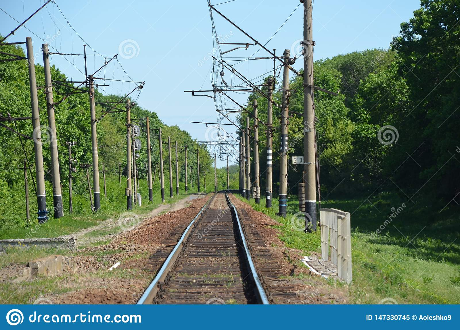 Linii kolejowej skrzy?owanie