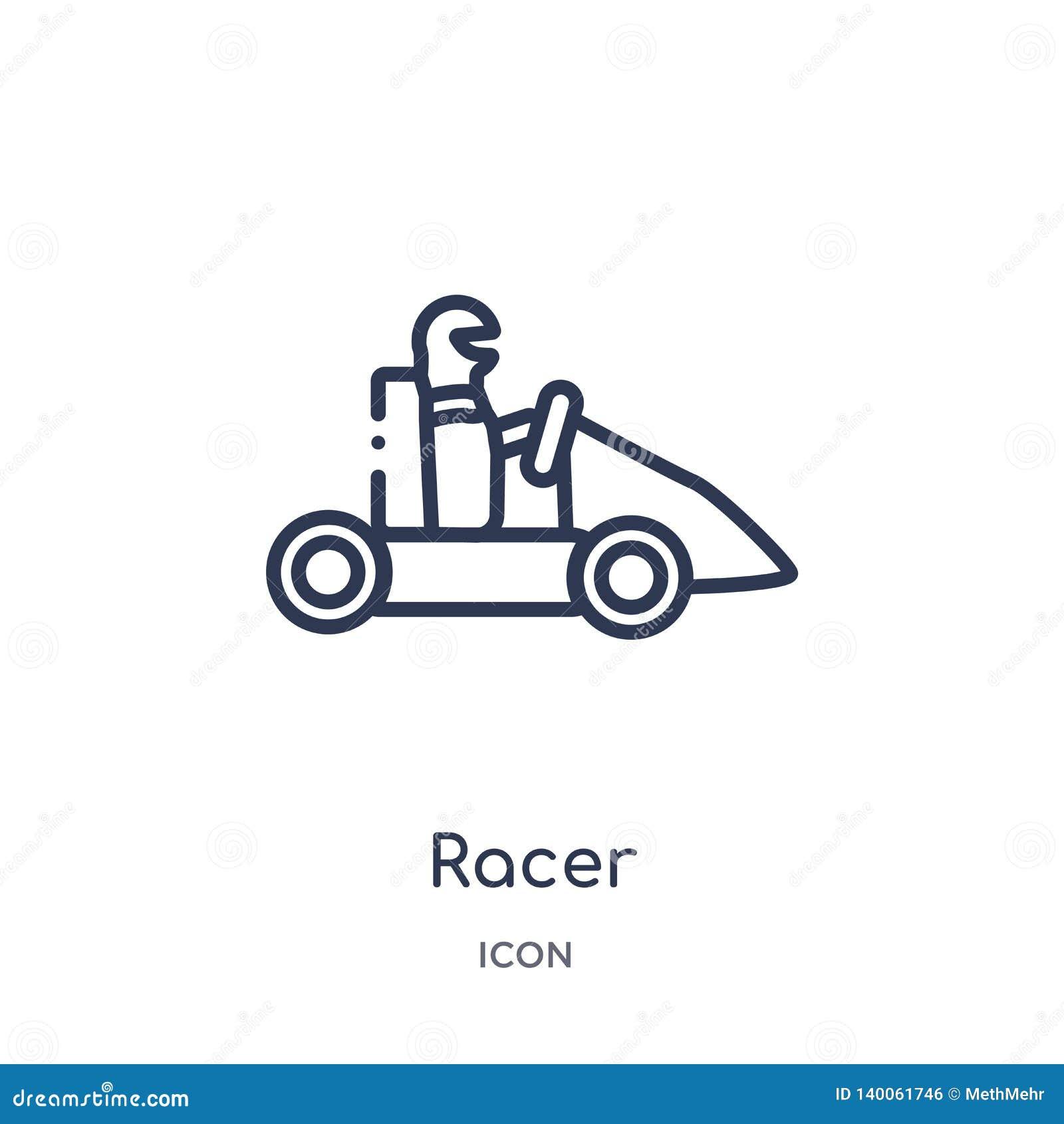 Liniowa setkarz ikona od Akcydensowych zysków zarysowywa kolekcję Cienieje kreskową setkarz ikonę odizolowywającą na białym tle s