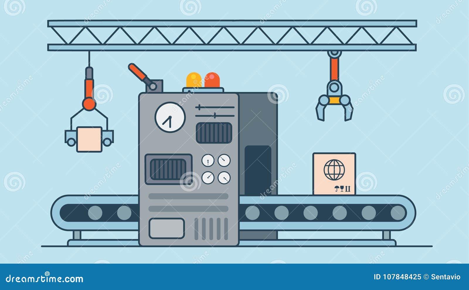 Liniowego Płaskiego manufaktura konwejeru maszynowy produkt p