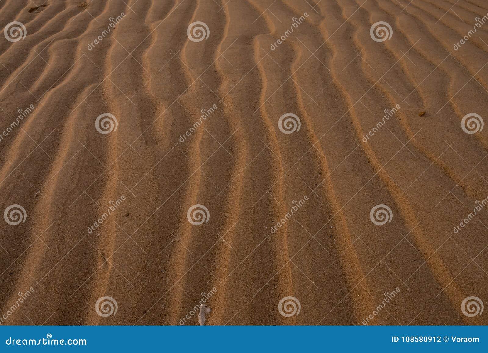 Linje av sanden