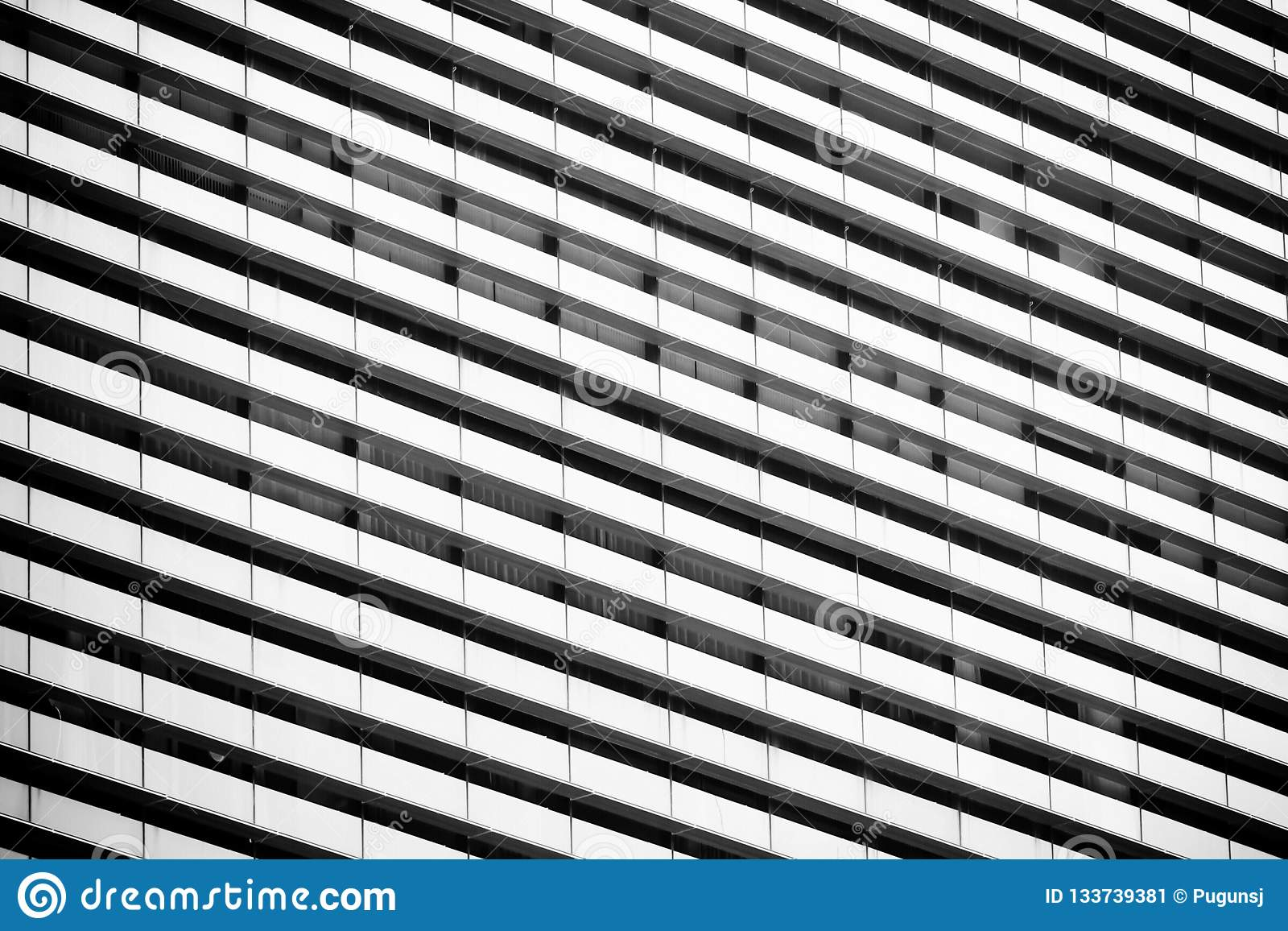 Linje geometrisk modell av arkitektur Specificerar av byggnad modern vägg Polygonal struktur Svartvitt av abstrakt begrepp