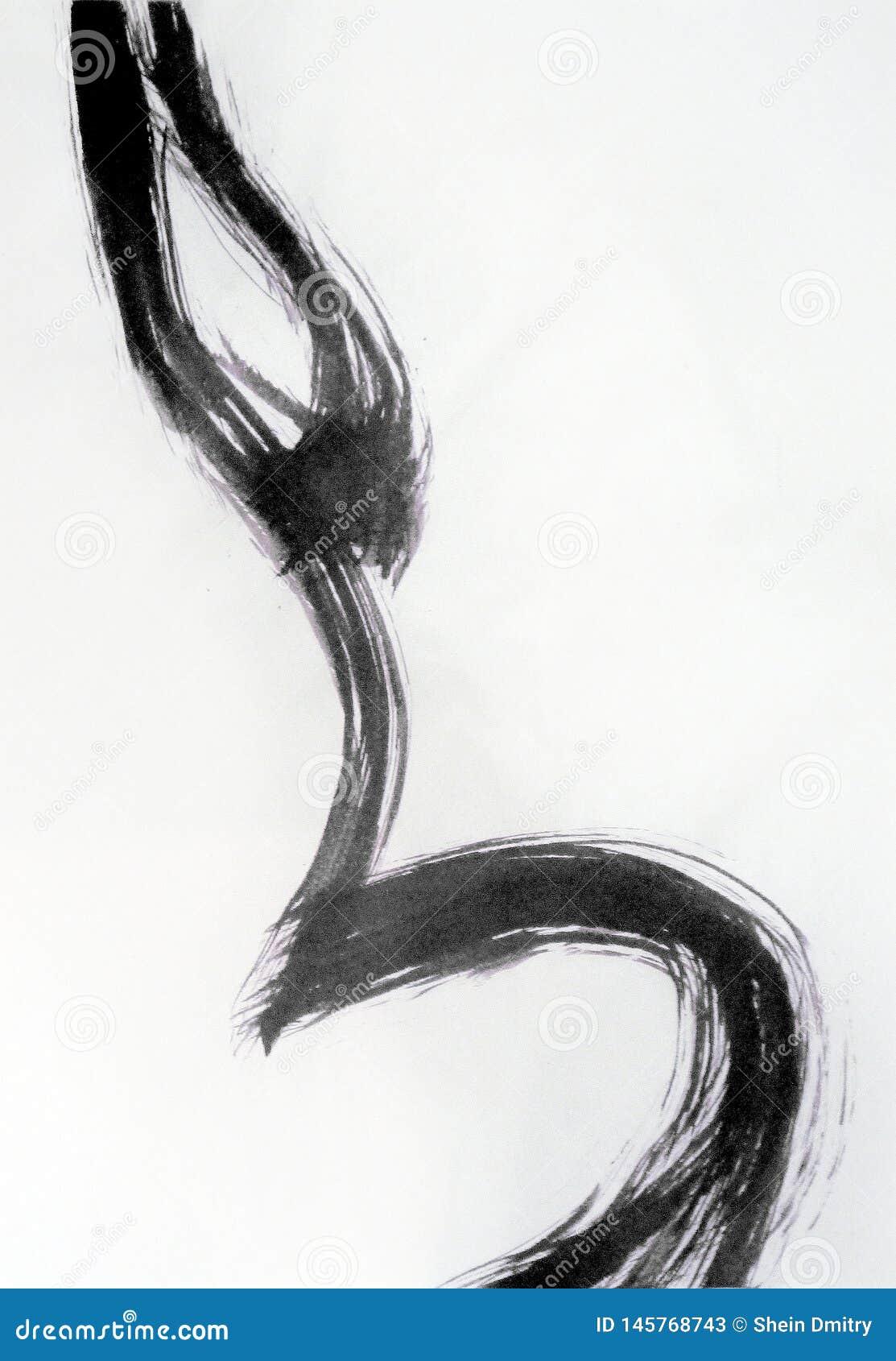 Linje som upprepar former för kvinnlig kropp
