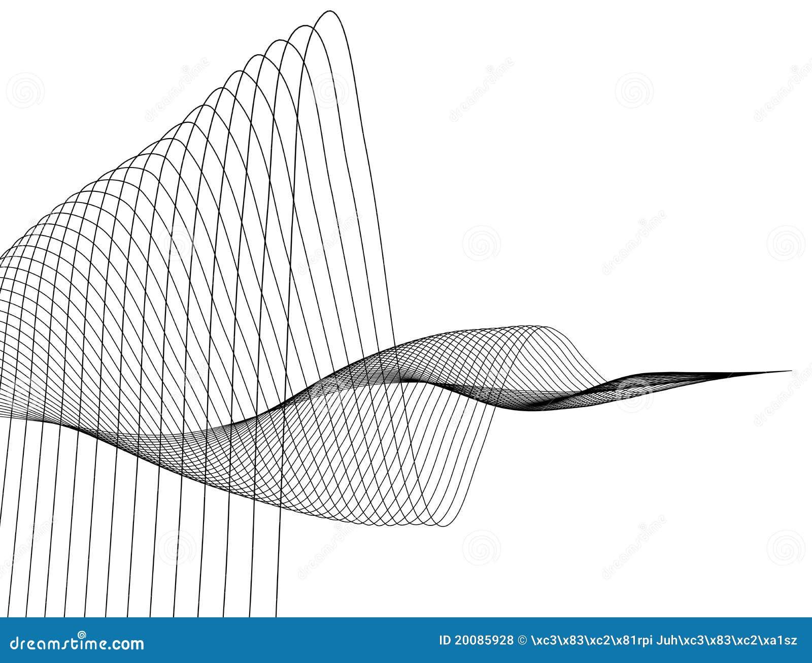Linje wave