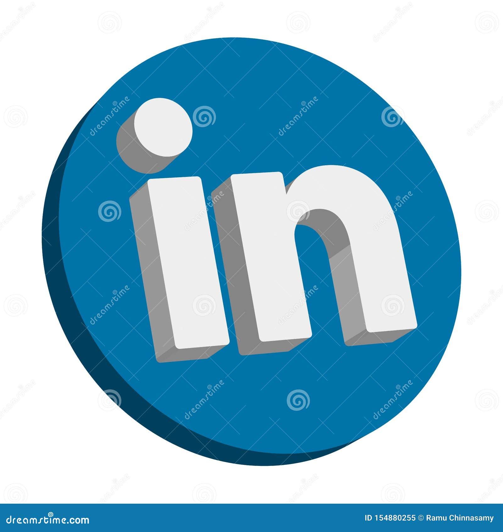 Linkedin Editorial Image Illustration Of Here Clip 154880255