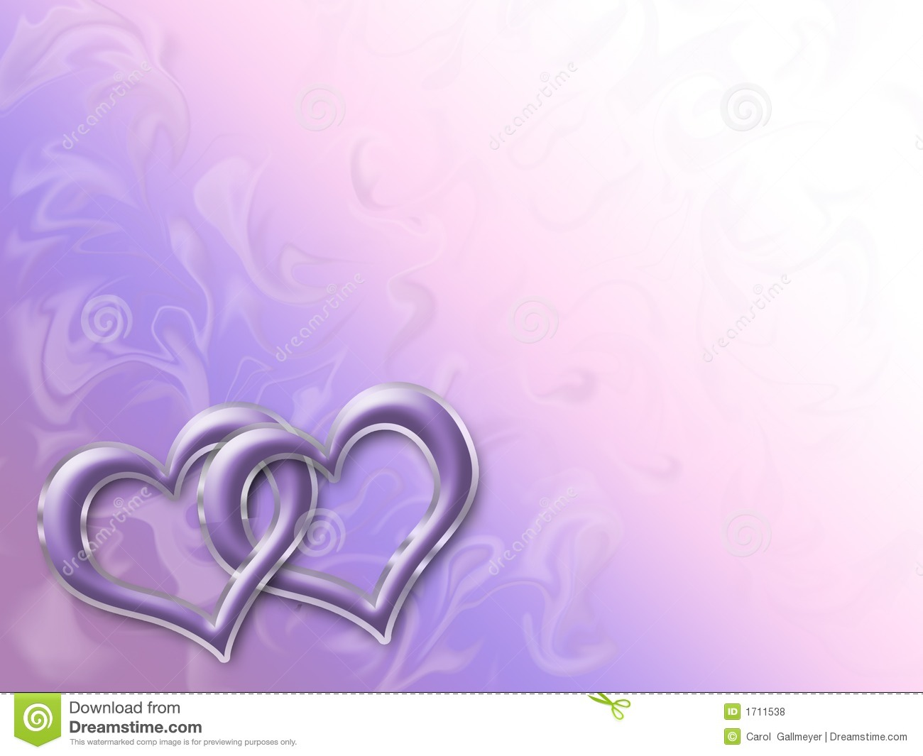 Linked Hearts Royalty Free Stock Photos Image 1711538
