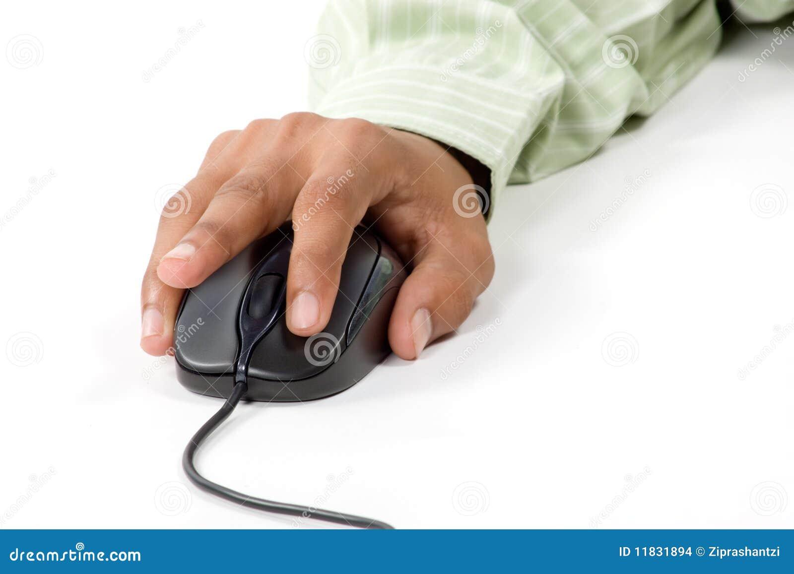 Linker klik op computermuis