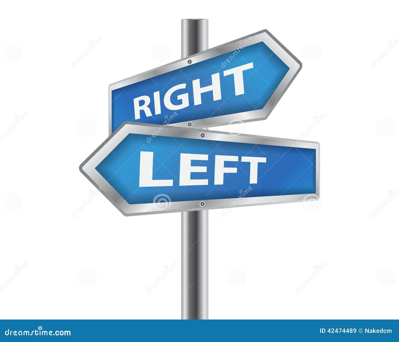 Linker und rechter Aufkleber