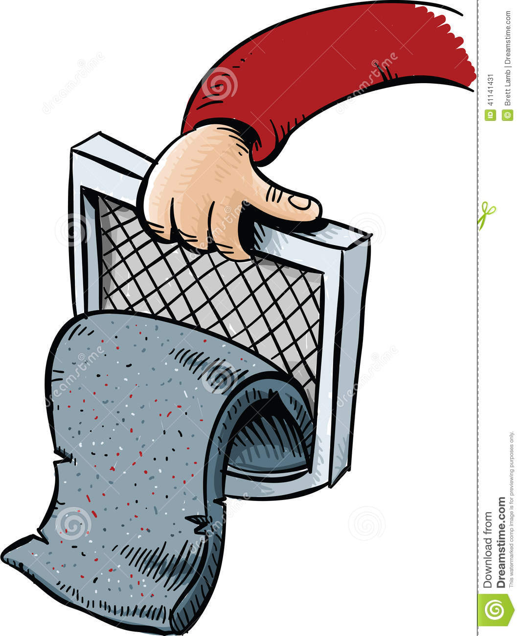 Clothes Dryer Clip Art ~ Lint trap stock illustration image