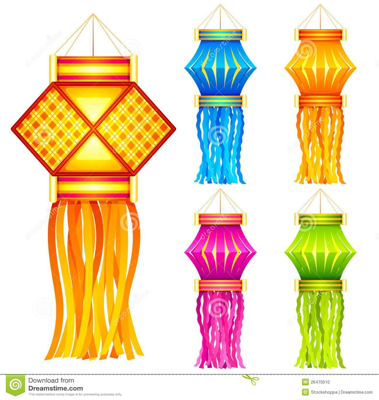 Linterna colgante de Diwali