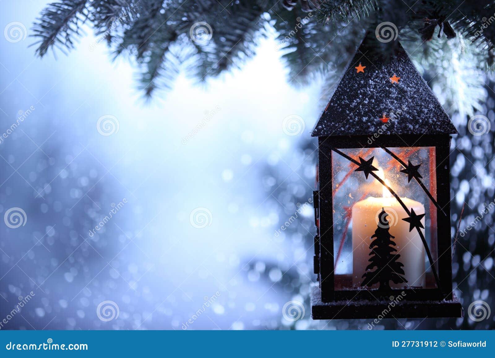 Linterna de la Navidad