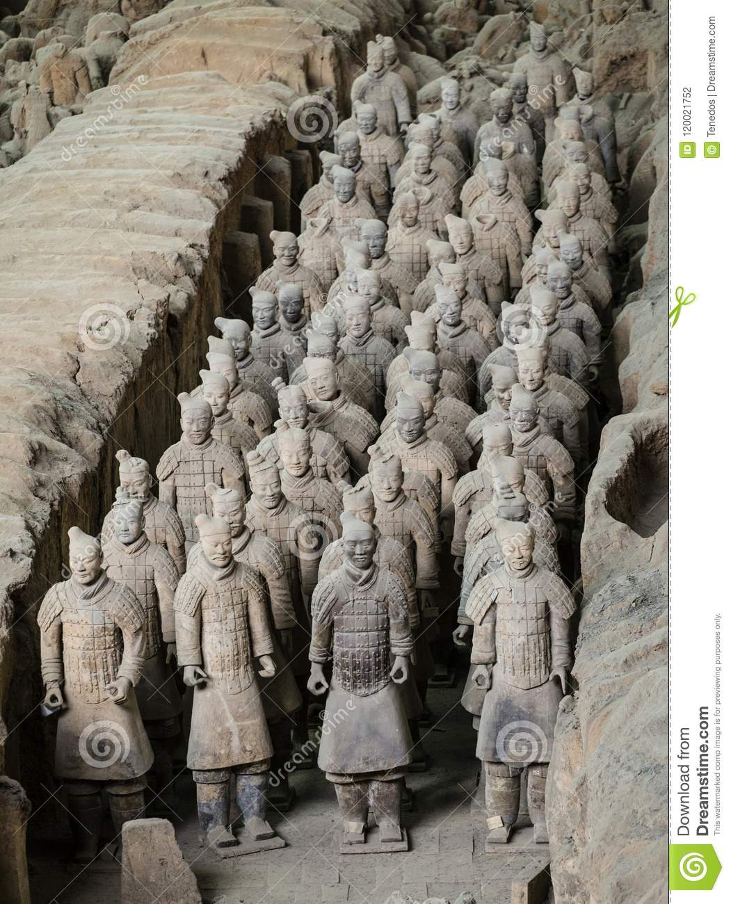Terracota Army of the first emperor of China