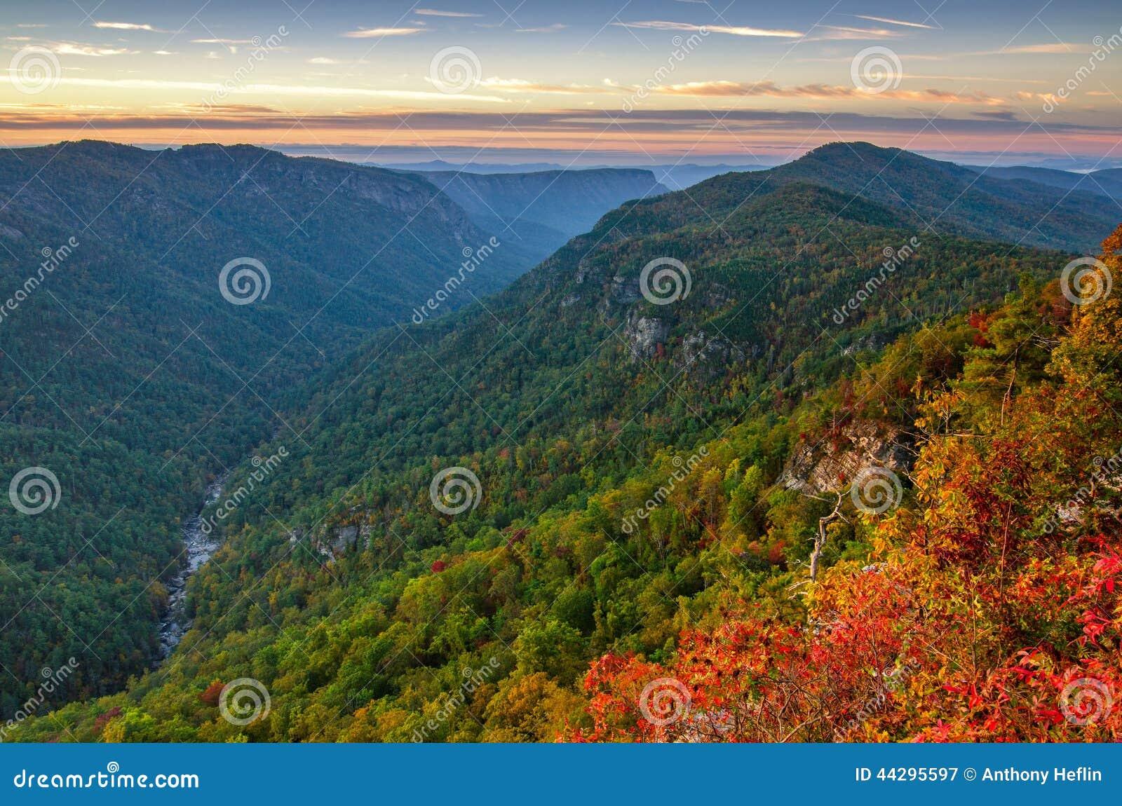 Linville Gorge, Sunrise, North Carolina