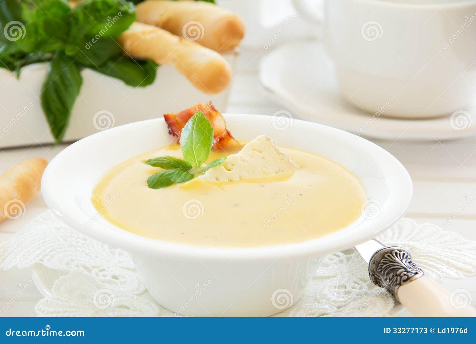 Linzesoep en pompoen