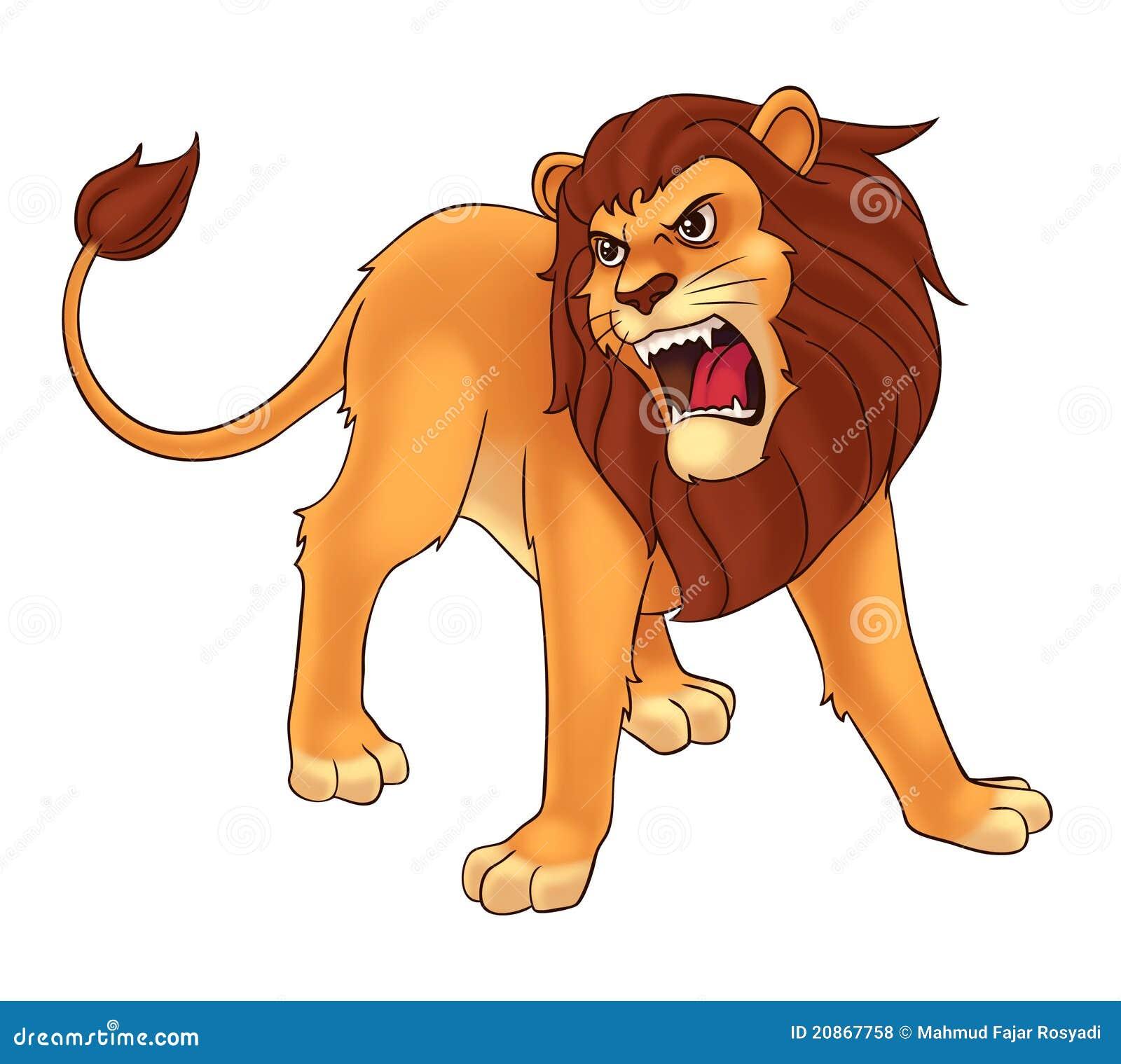 Lion stock illustration. Illustration of claw, wild, roar ...