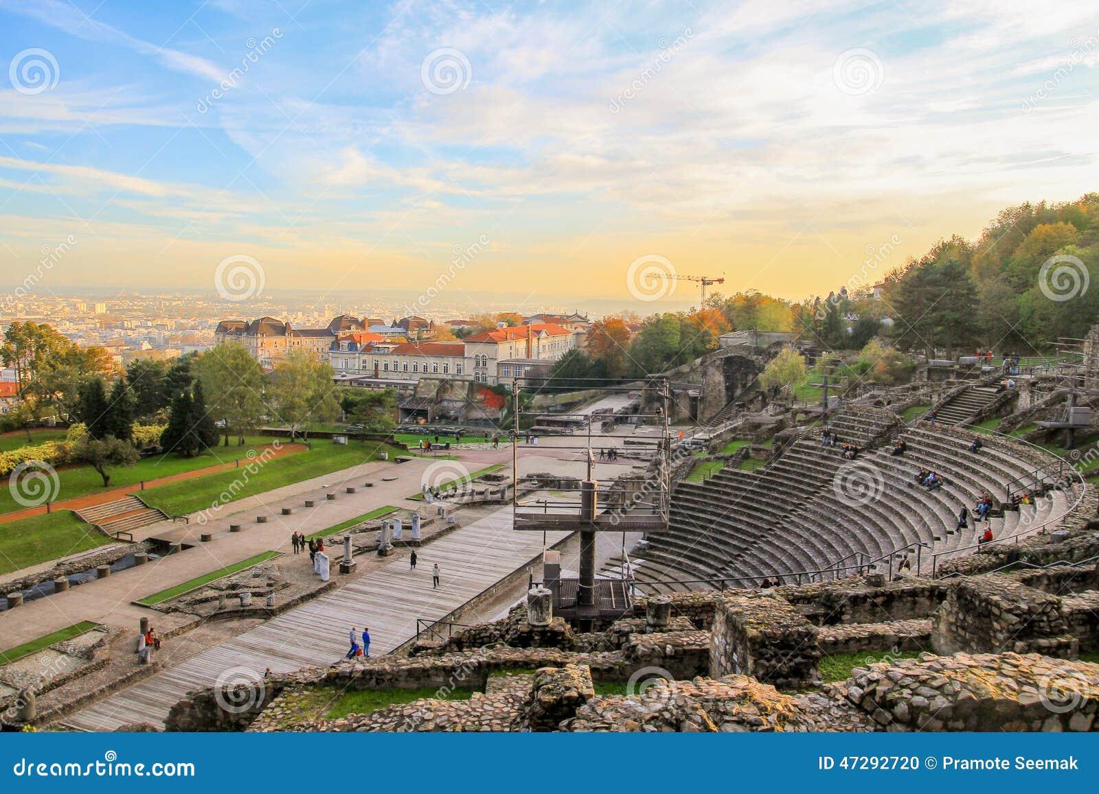 Lion amfiteatr rzymski