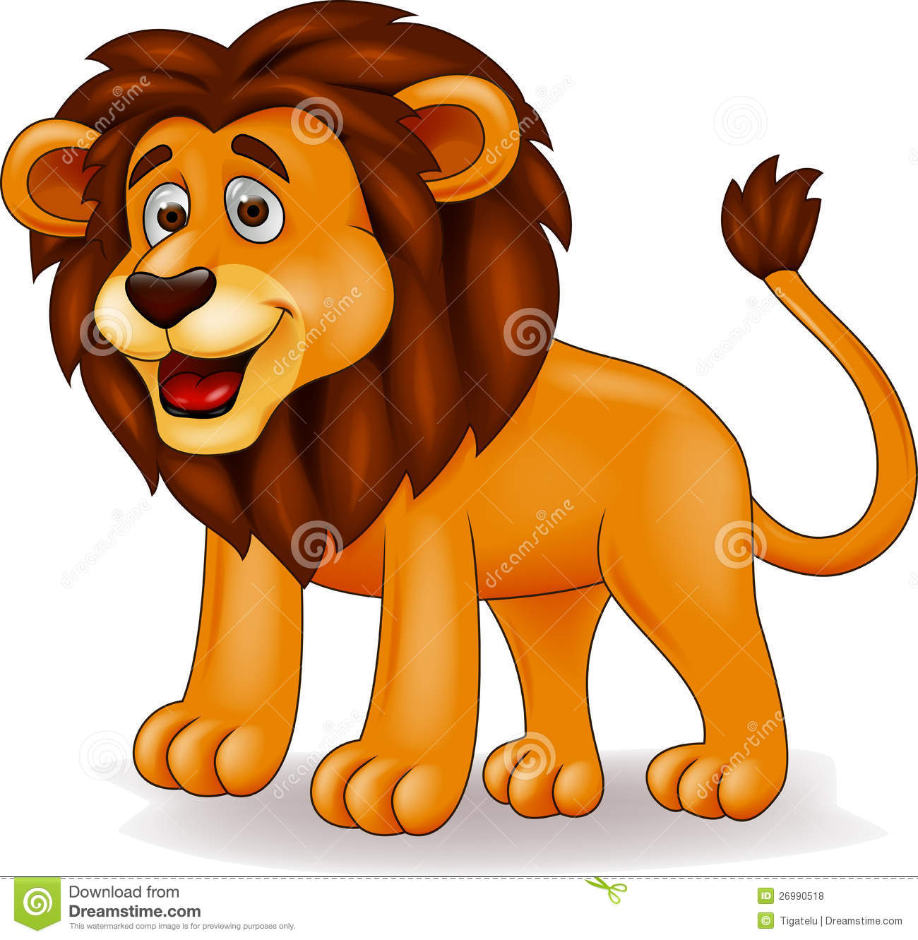 Lion Cartoon Royalty Free Stock Photos - Image: 26990518